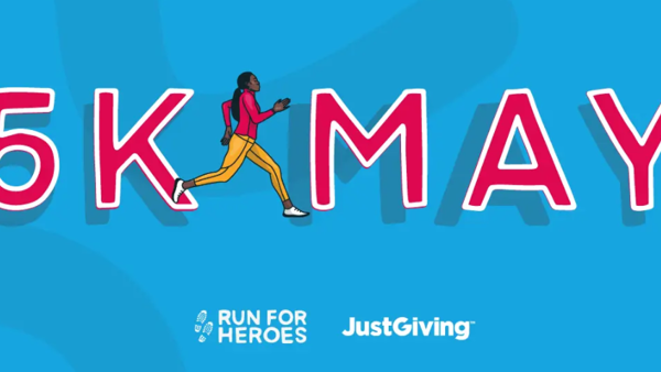 5kMay - New Charity Fundraising Challenge