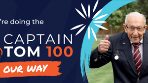 'Captain Tom 100' Campaign Launches!