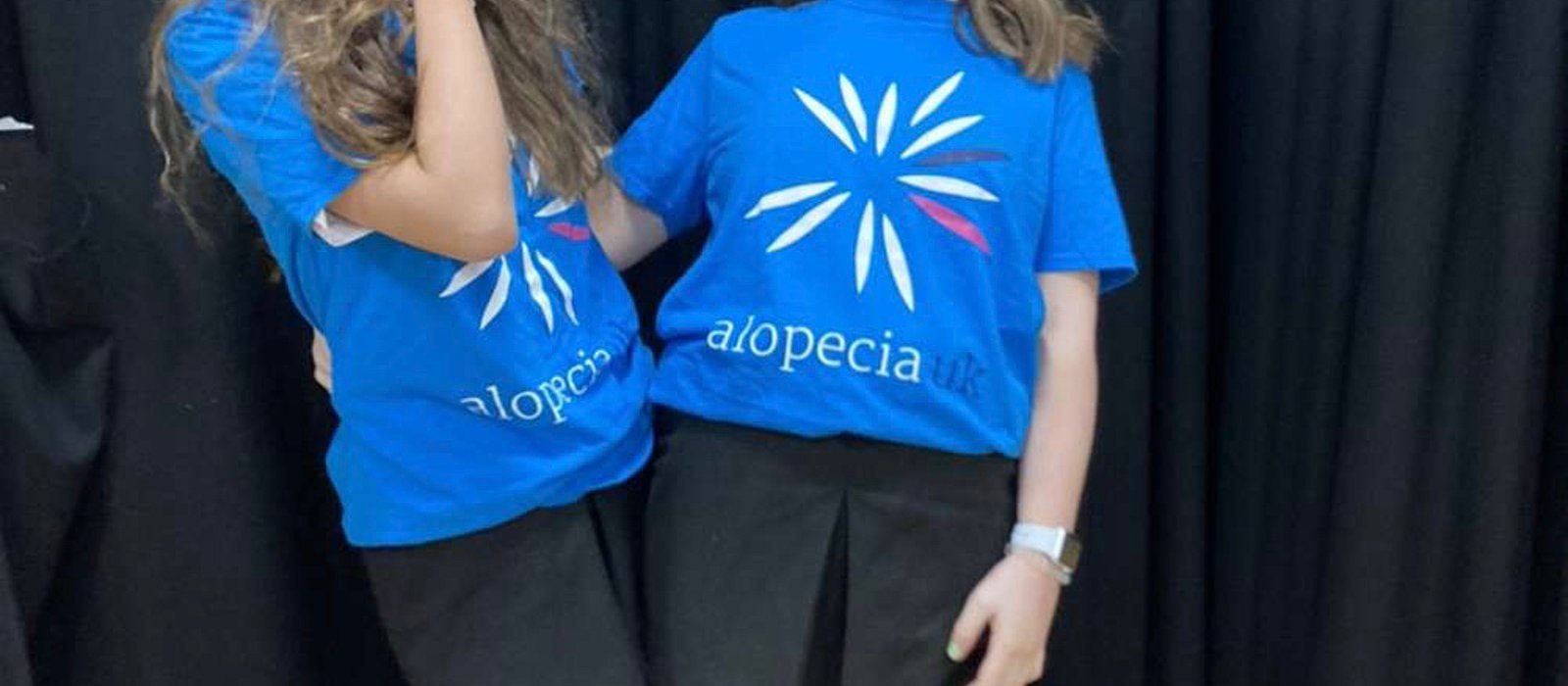 Molly and Hannah's fundraising page for Alopecia UK