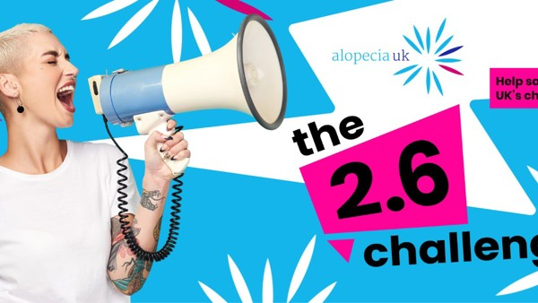 Join the 2.6 Challenge to Help Alopecia UK