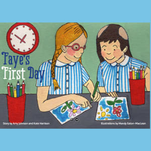'Faye's First Day' Story Booklet
