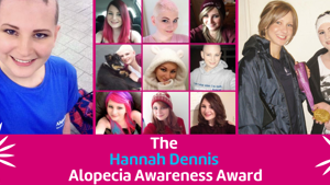 The Hannah Dennis Alopecia Awareness Award 2021